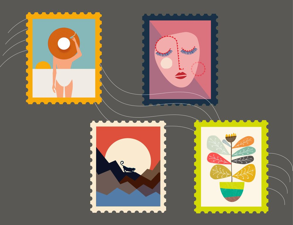 Stamps :) - image 1 - student project