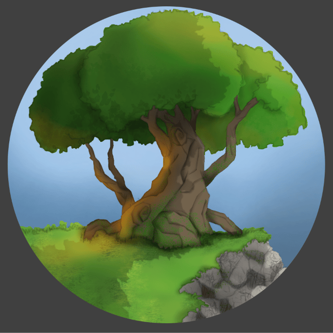 tree   cliff - image 1 - student project