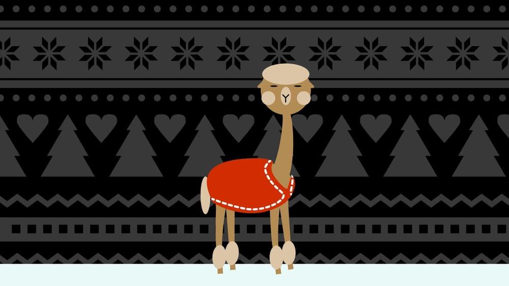 Christmas Alpaca - image 1 - student project