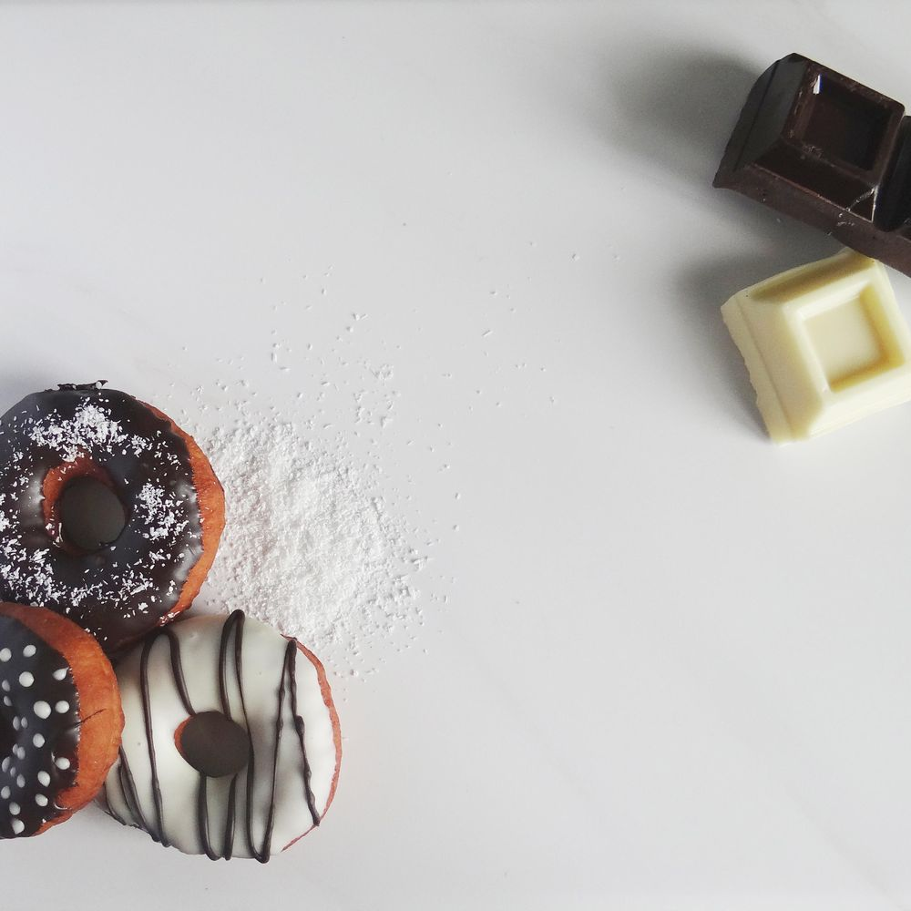Donut Flatlays - image 2 - student project