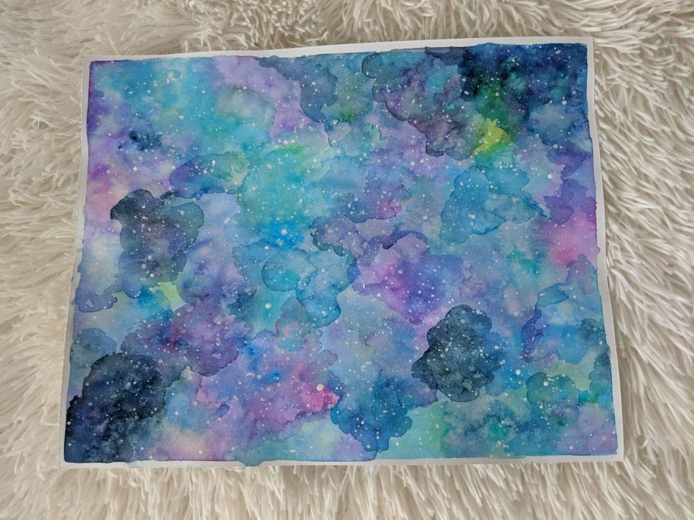 Galaxy Painting - image 1 - student project