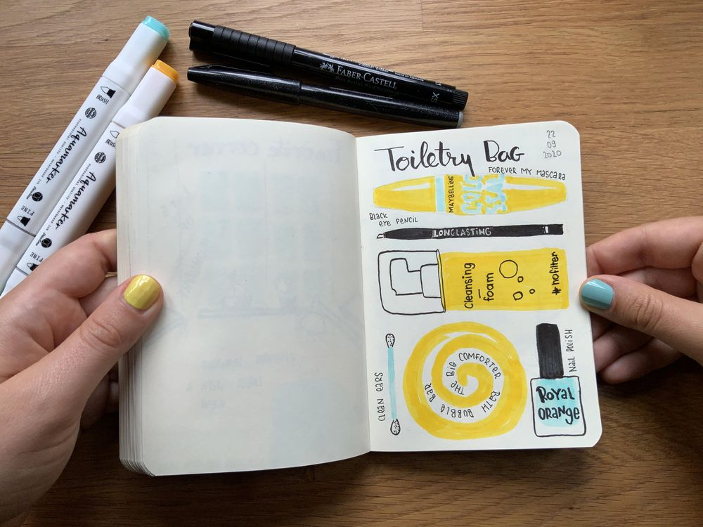 14 days of yellow and blue - image 4 - student project