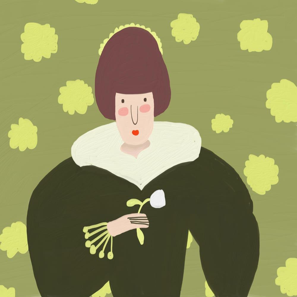 A Tudor Women - image 1 - student project