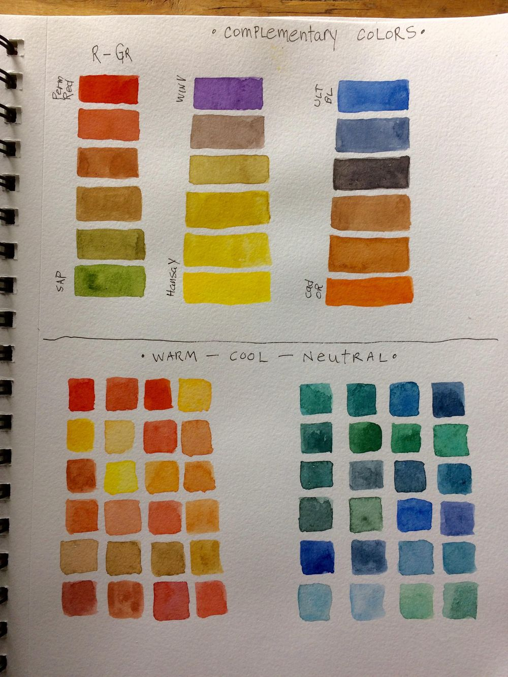 color exercises - image 2 - student project