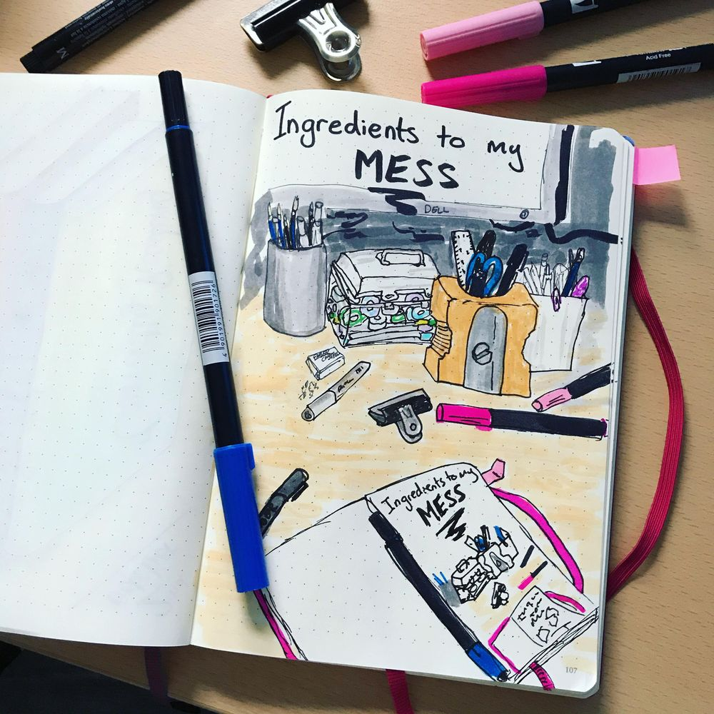 My Daily Illustrations - image 5 - student project