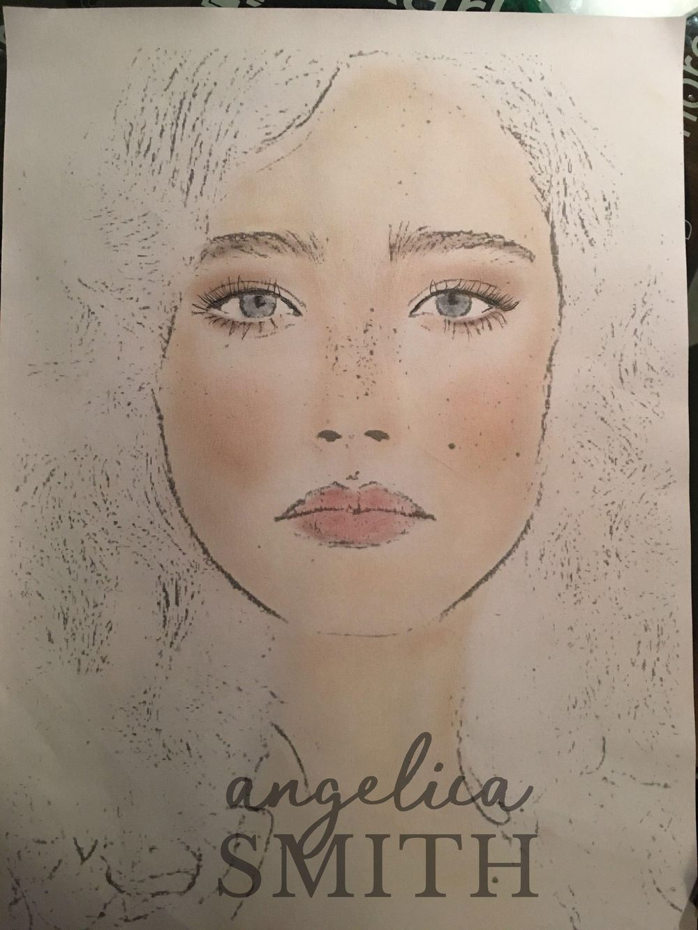 Makeup Chart - image 1 - student project