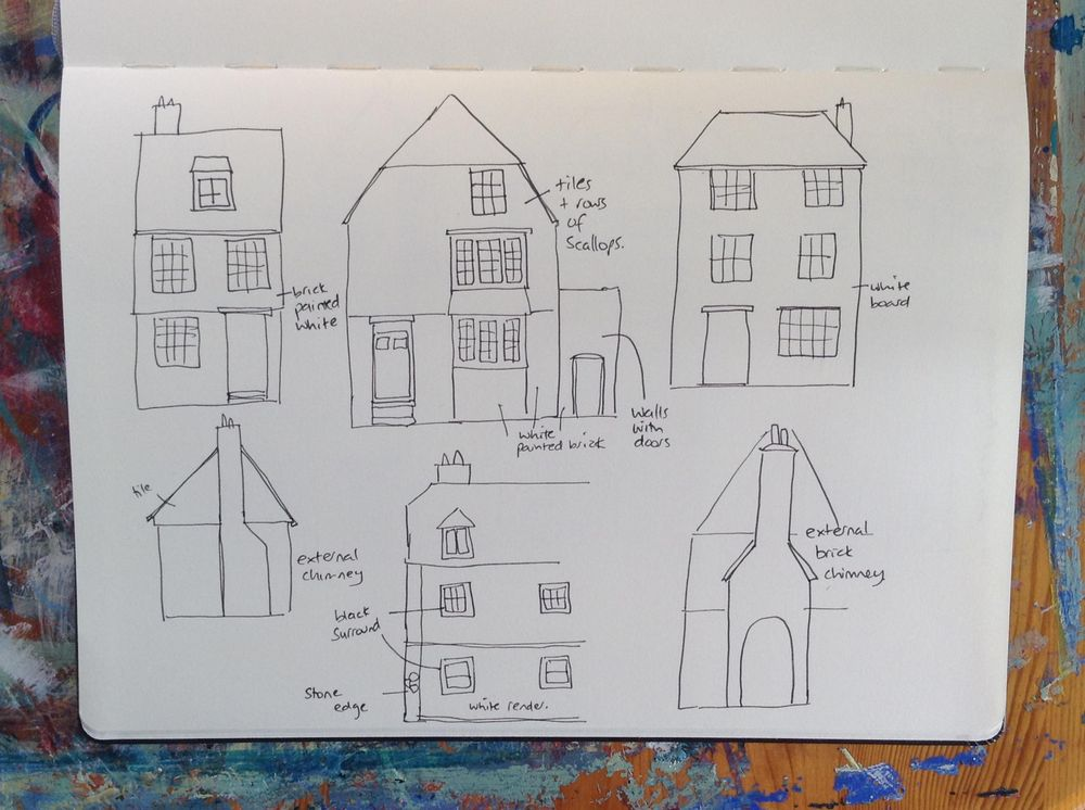 Sample Project: Travel Sketching - image 1 - student project