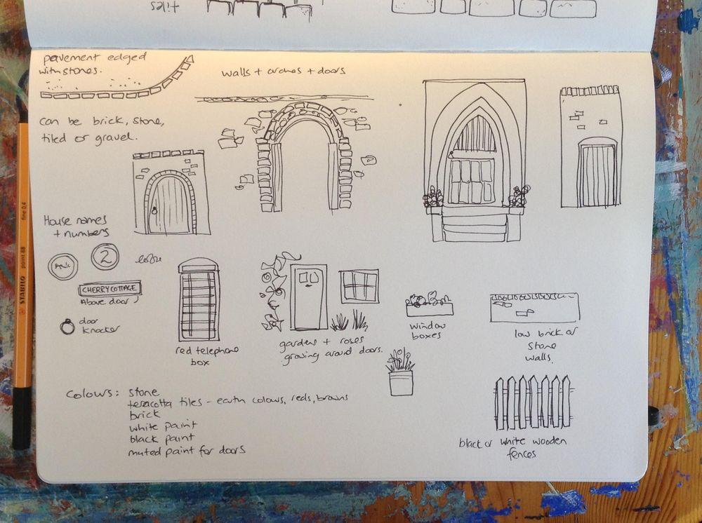 Sample Project: Travel Sketching - image 2 - student project