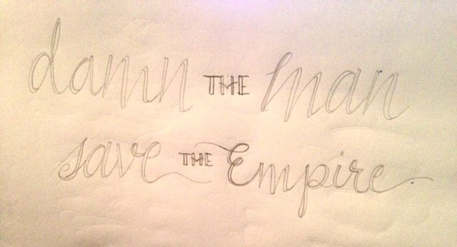 Damn the Man, Save the Empire - image 2 - student project