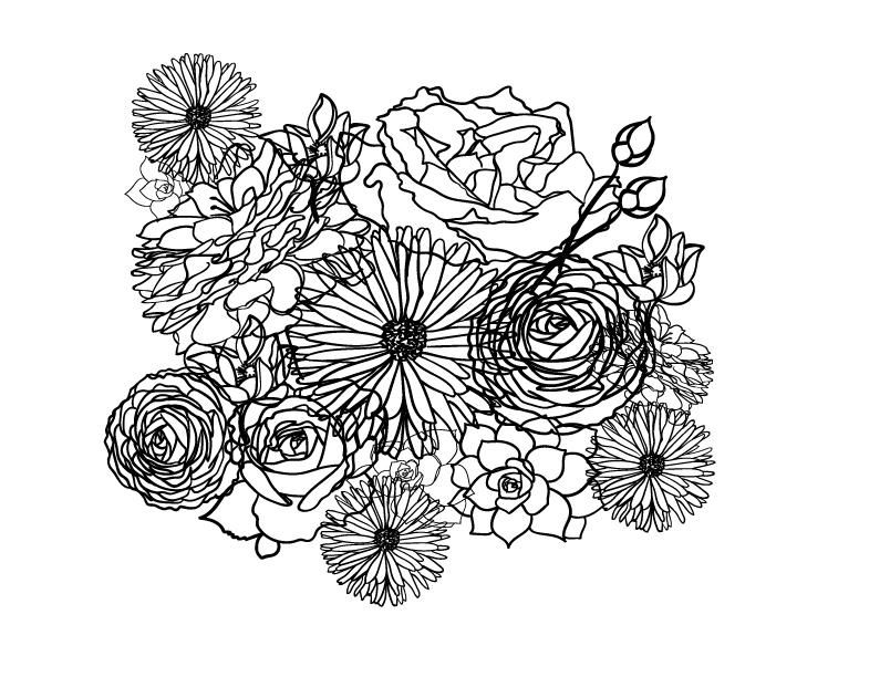 Floral Repeat - image 1 - student project