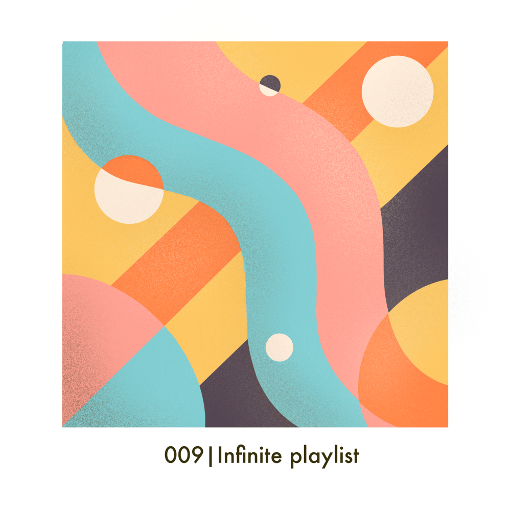 My infinite playlist cover - image 1 - student project