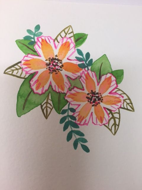 Modern Florals - image 1 - student project