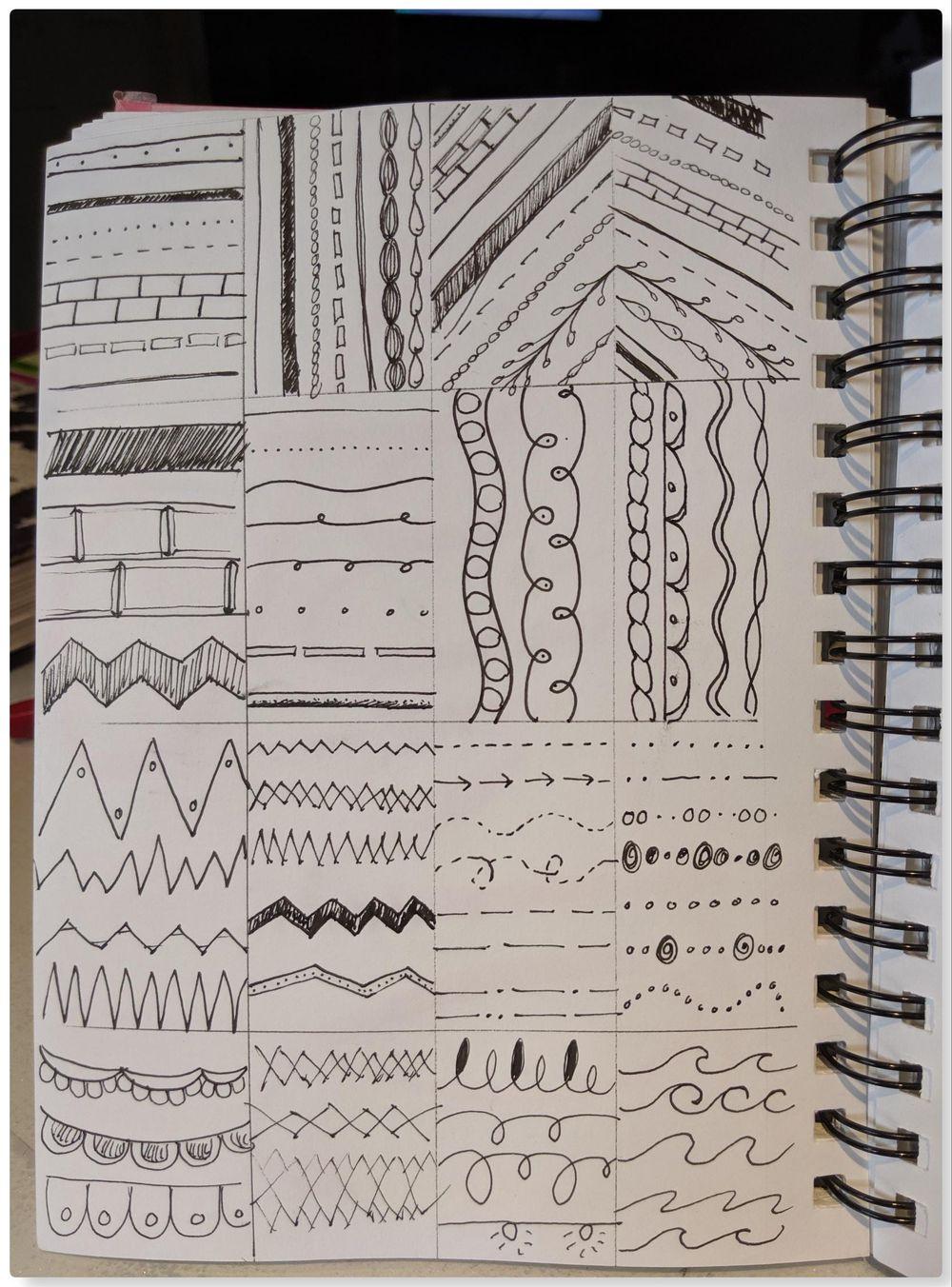 Lines, Paint & Letters - image 1 - student project