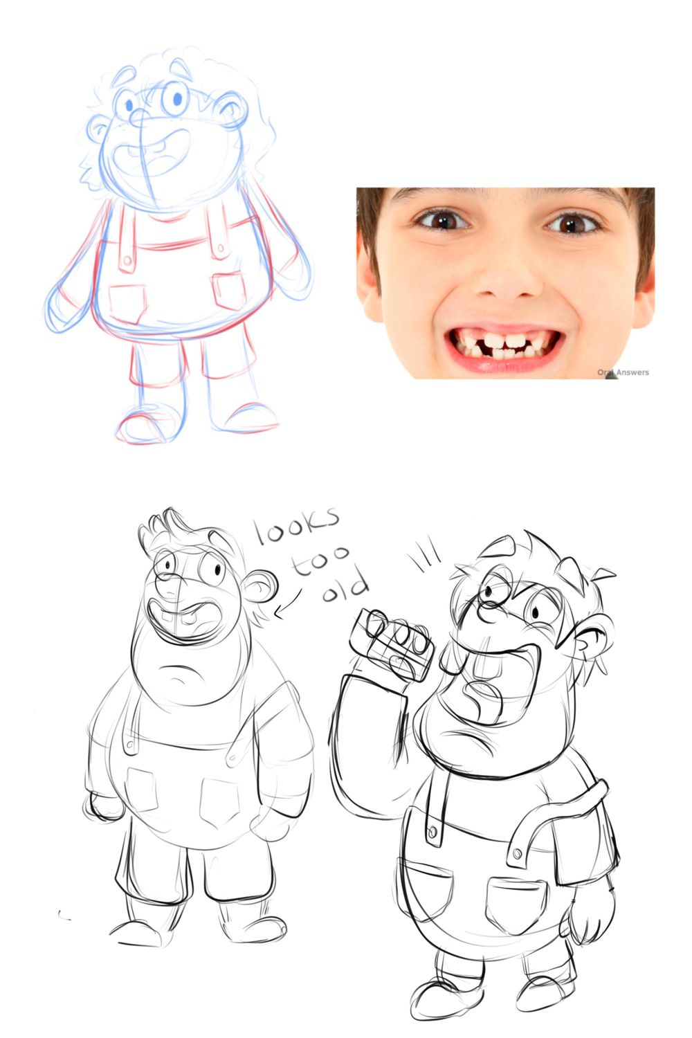 5 Boys - Character Design - image 2 - student project