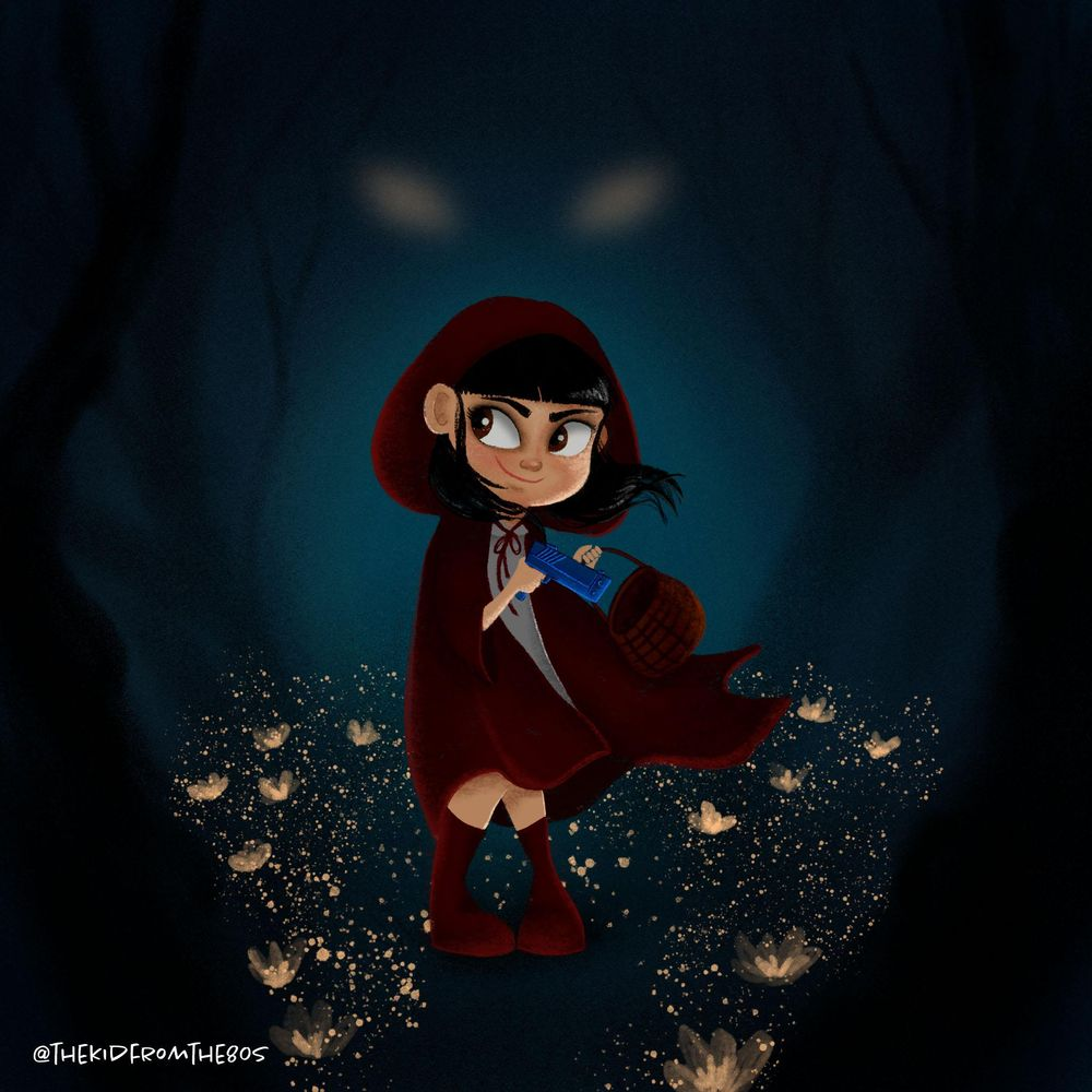 Little red in the hood - image 1 - student project