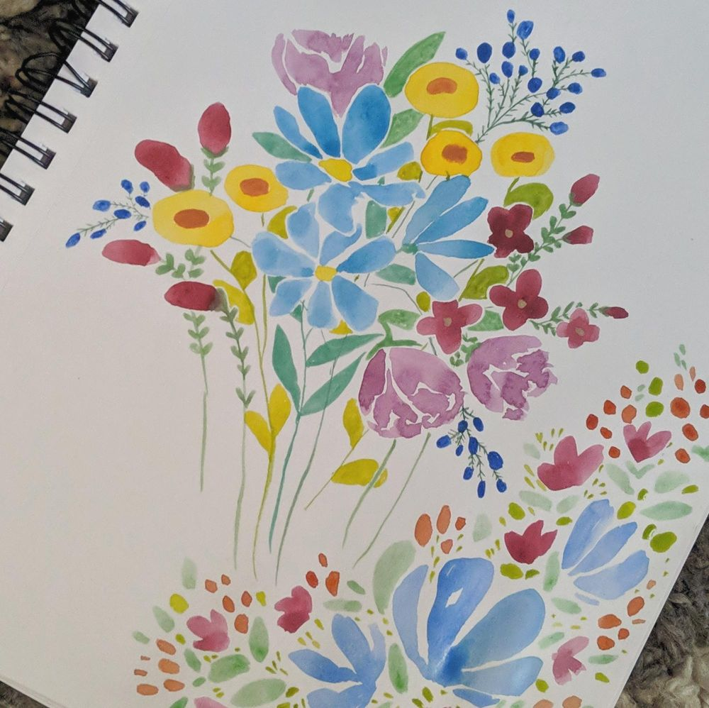 Sketchbook practice - image 2 - student project