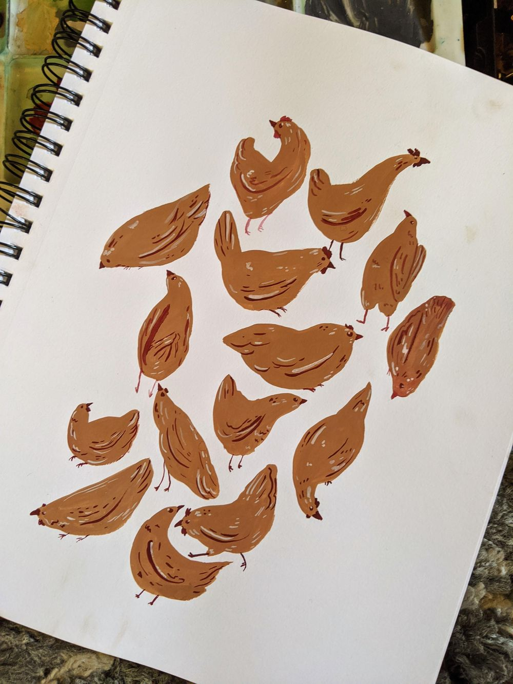 Sketchbook practice - image 1 - student project
