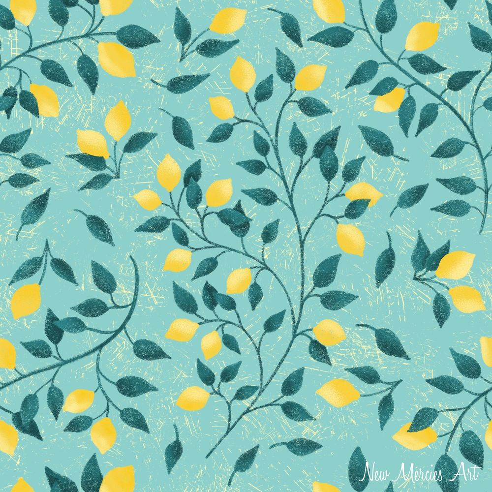 Rachel's Seamless Repeat Pattern - image 3 - student project