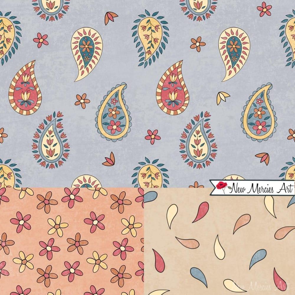 Rachel's Paisley Patterns - image 3 - student project