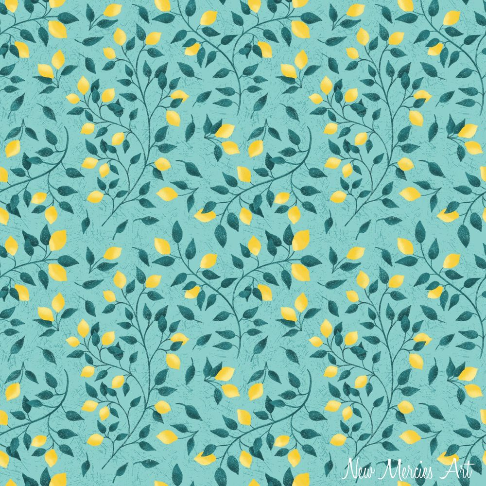 Rachel's Seamless Repeat Pattern - image 6 - student project