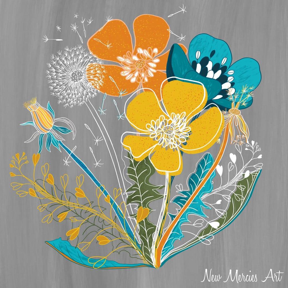 Rachel's wildflowers - image 1 - student project