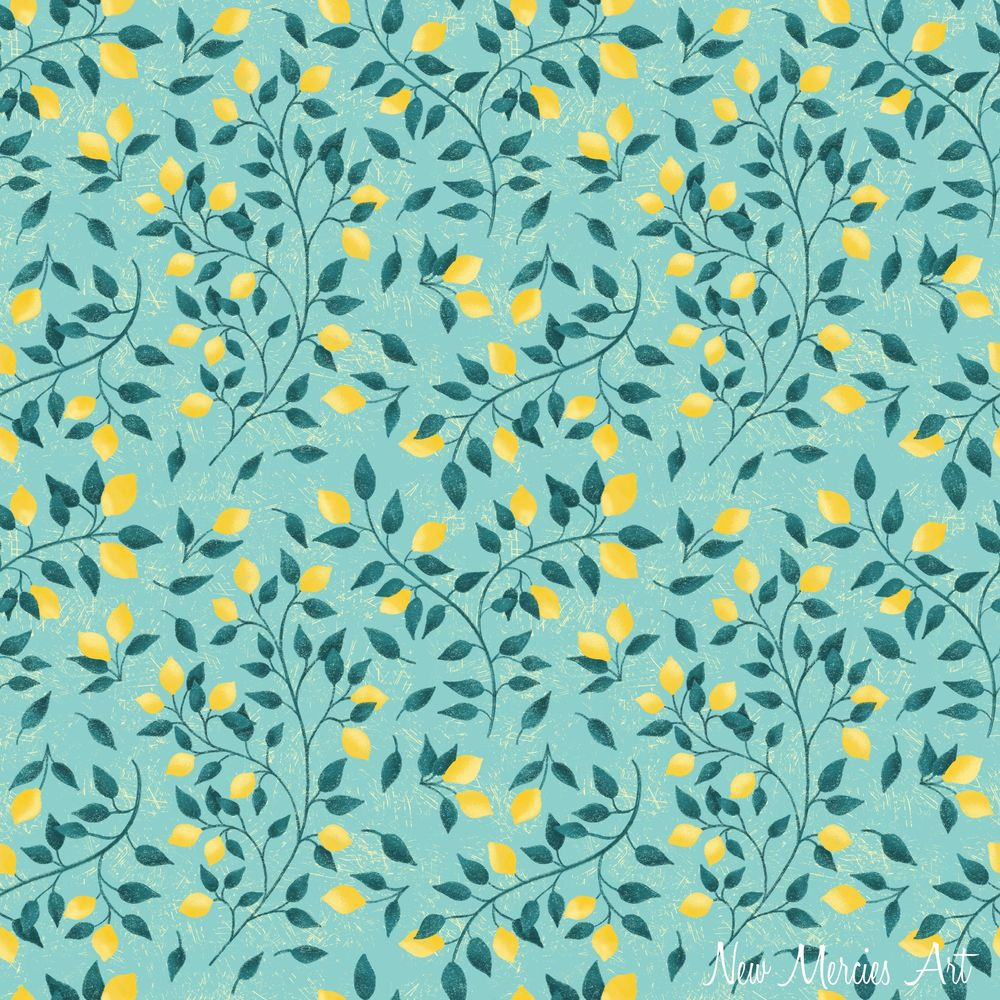 Rachel's Seamless Repeat Pattern - image 1 - student project