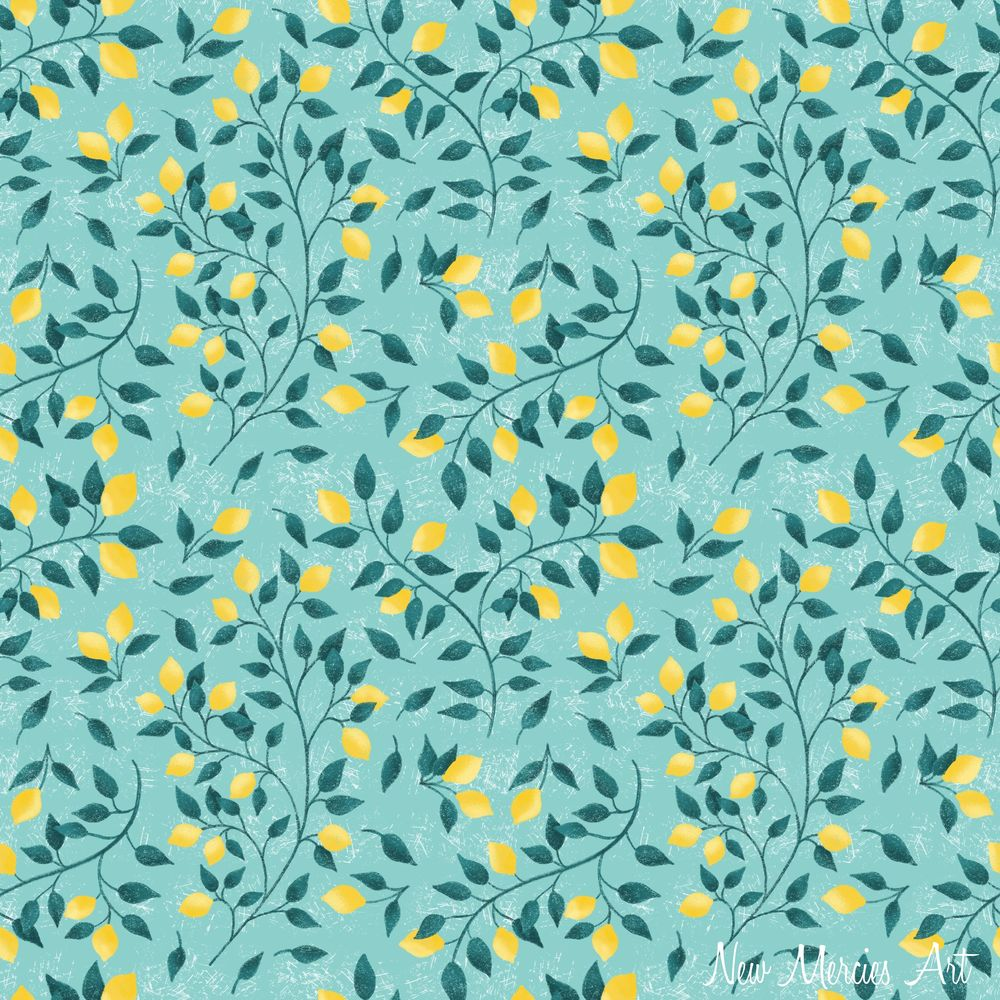Rachel's Seamless Repeat Pattern - image 5 - student project