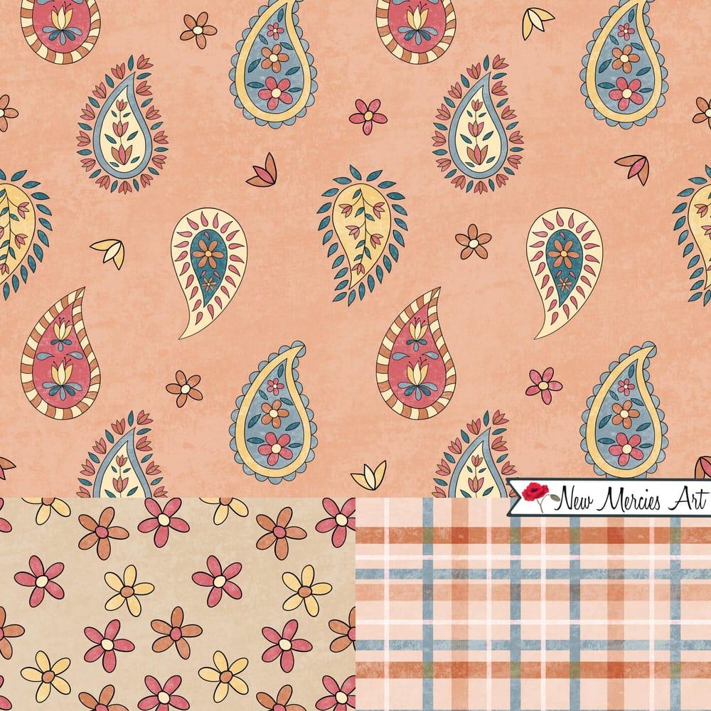 Rachel's Paisley Patterns - image 1 - student project