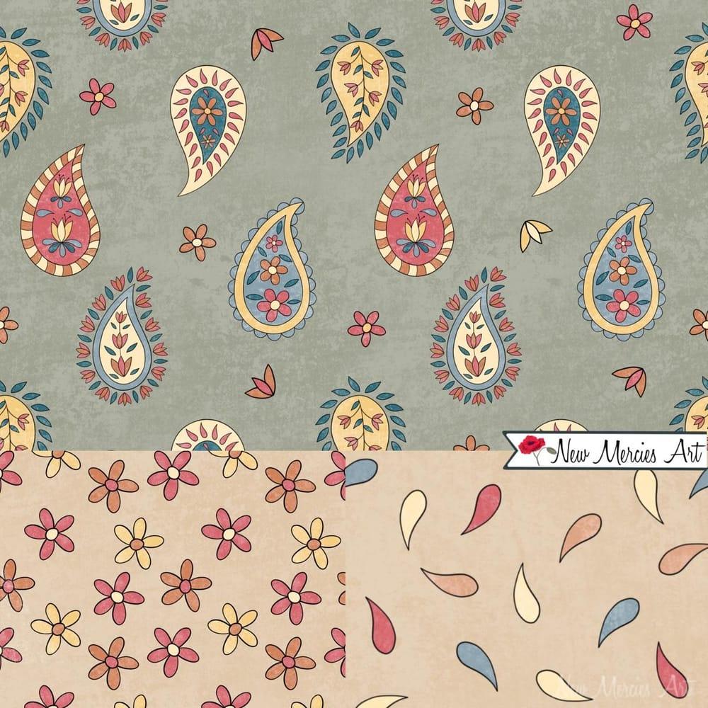 Rachel's Paisley Patterns - image 2 - student project