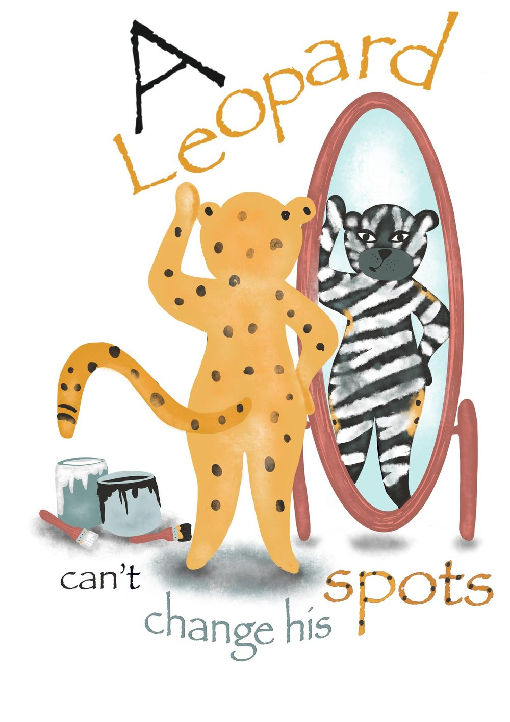 Lisa Mellows- A Leopard can't change his spots - image 1 - student project