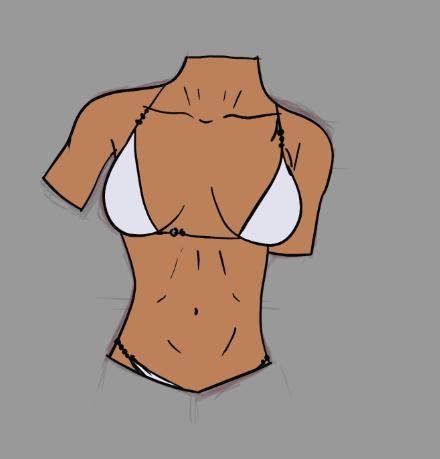 Female Torso Practice - image 5 - student project