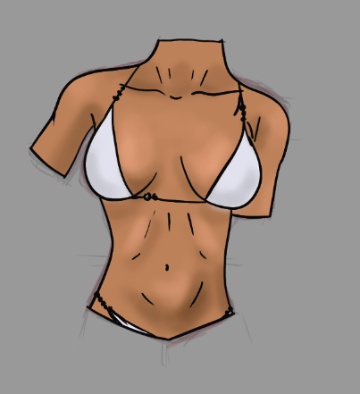 Female Torso Practice - image 6 - student project