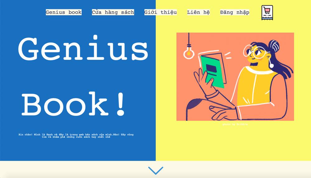 Geniusbook - image 1 - student project