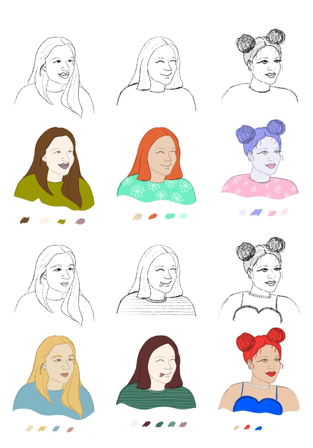 Fun with Faces - image 1 - student project