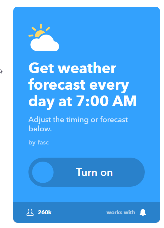Get the Weather Forecast Every Morning - image 1 - student project