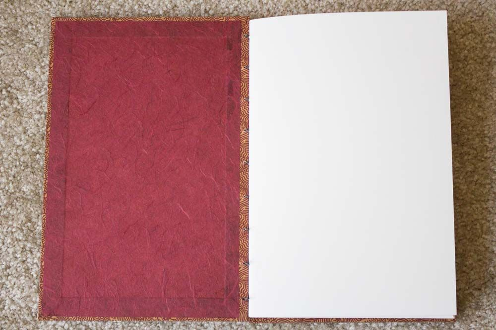 My first coptic stitch book! - image 2 - student project