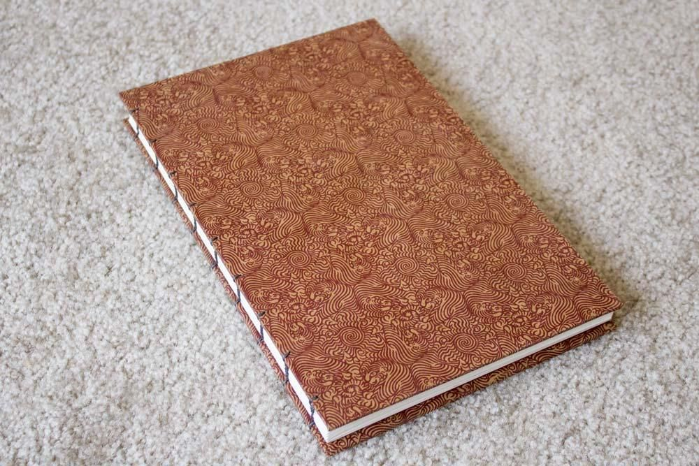 My first coptic stitch book! - image 1 - student project