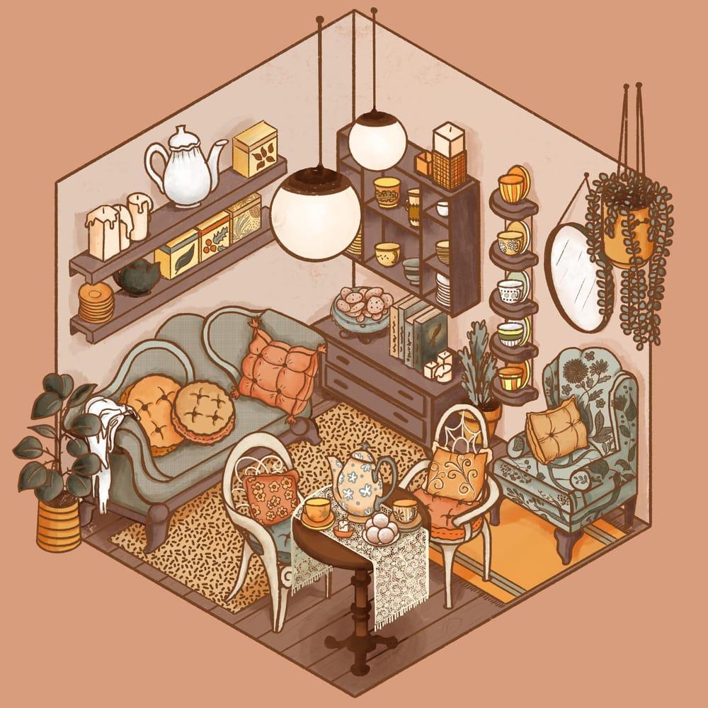 Cozy Tea Shop - image 9 - student project