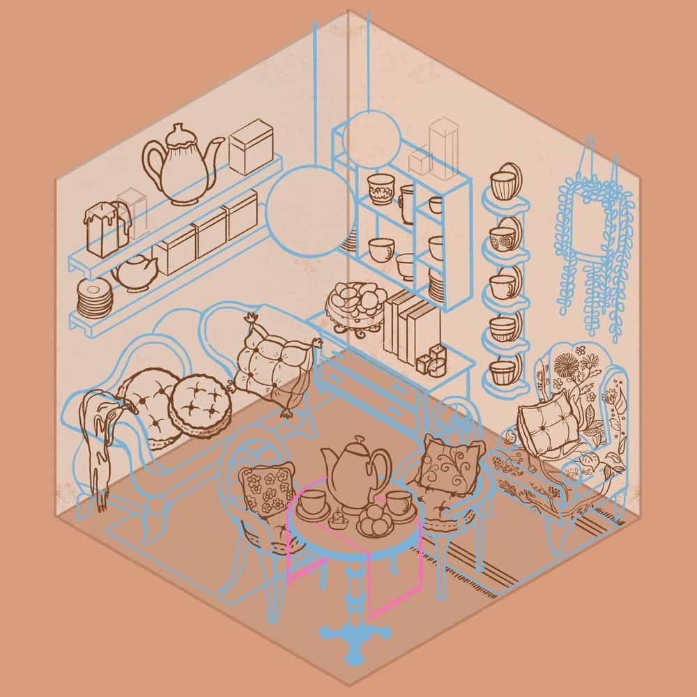 Cozy Tea Shop - image 5 - student project