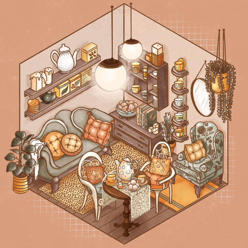 Cozy Tea Shop - image 1 - student project