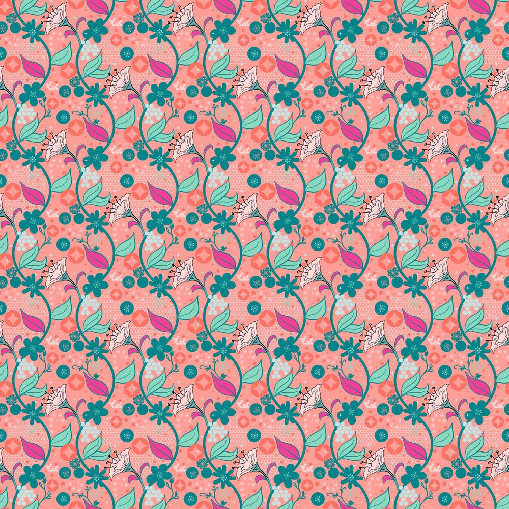 Advanced Seamless Repeat Patterns - image 10 - student project