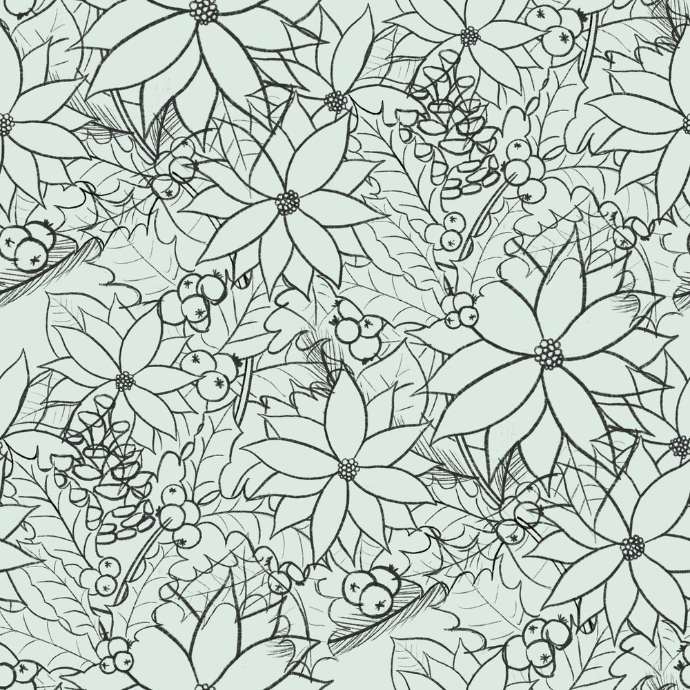 Advanced Seamless Repeat Patterns - image 5 - student project