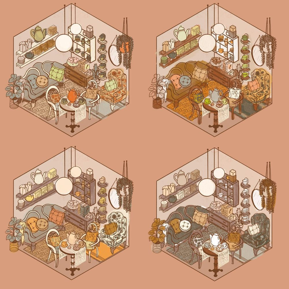 Cozy Tea Shop - image 7 - student project