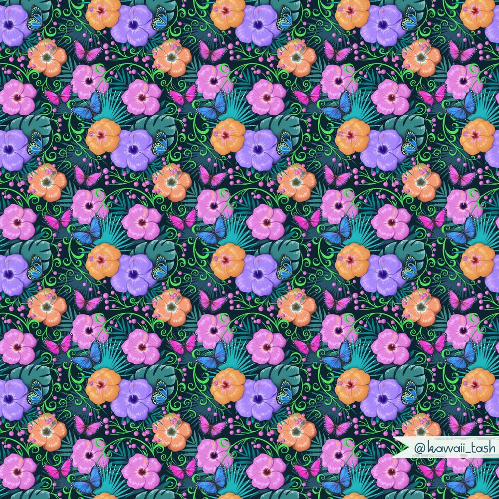 Advanced Seamless Repeat Patterns - image 2 - student project