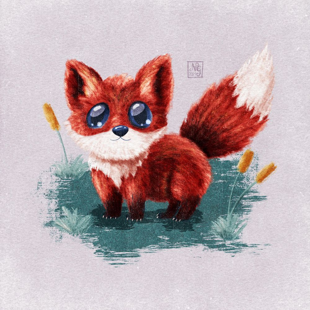 Learning to draw fur! - image 4 - student project