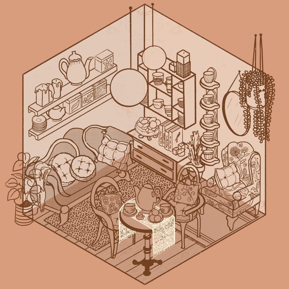 Cozy Tea Shop - image 6 - student project
