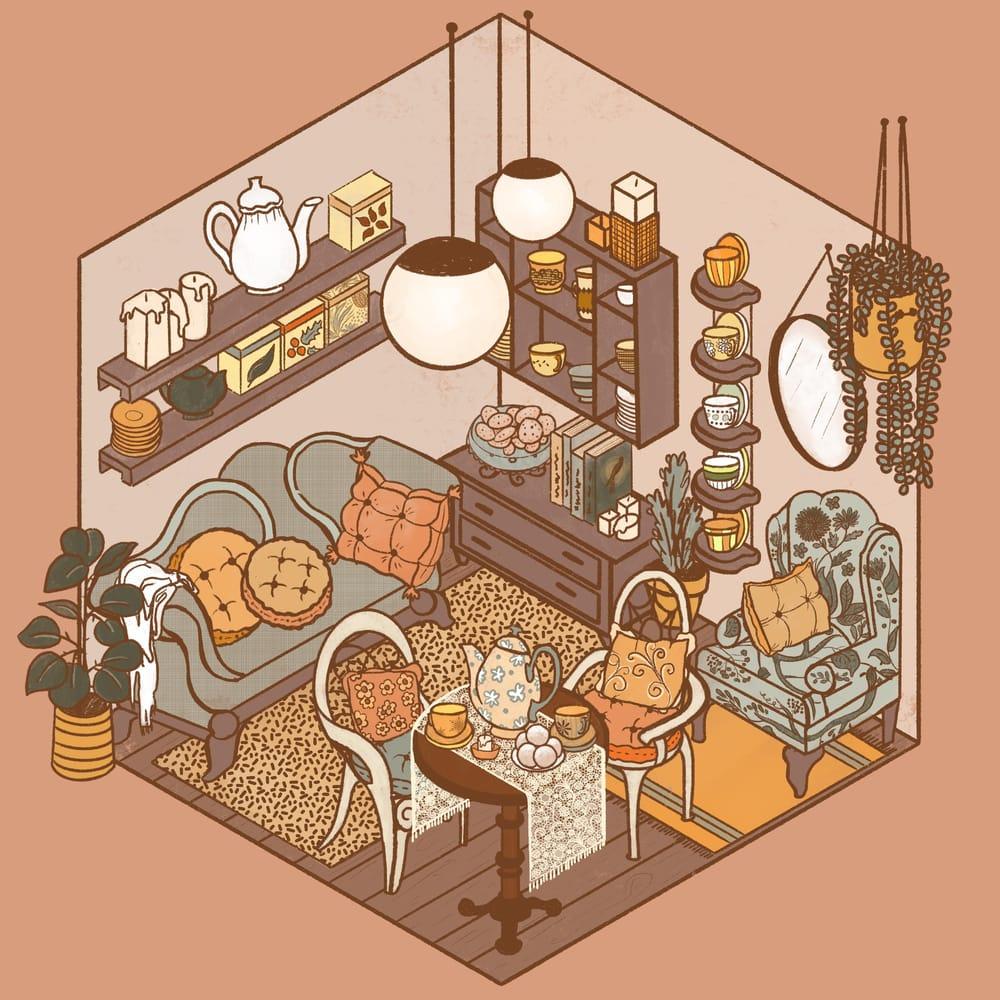 Cozy Tea Shop - image 8 - student project