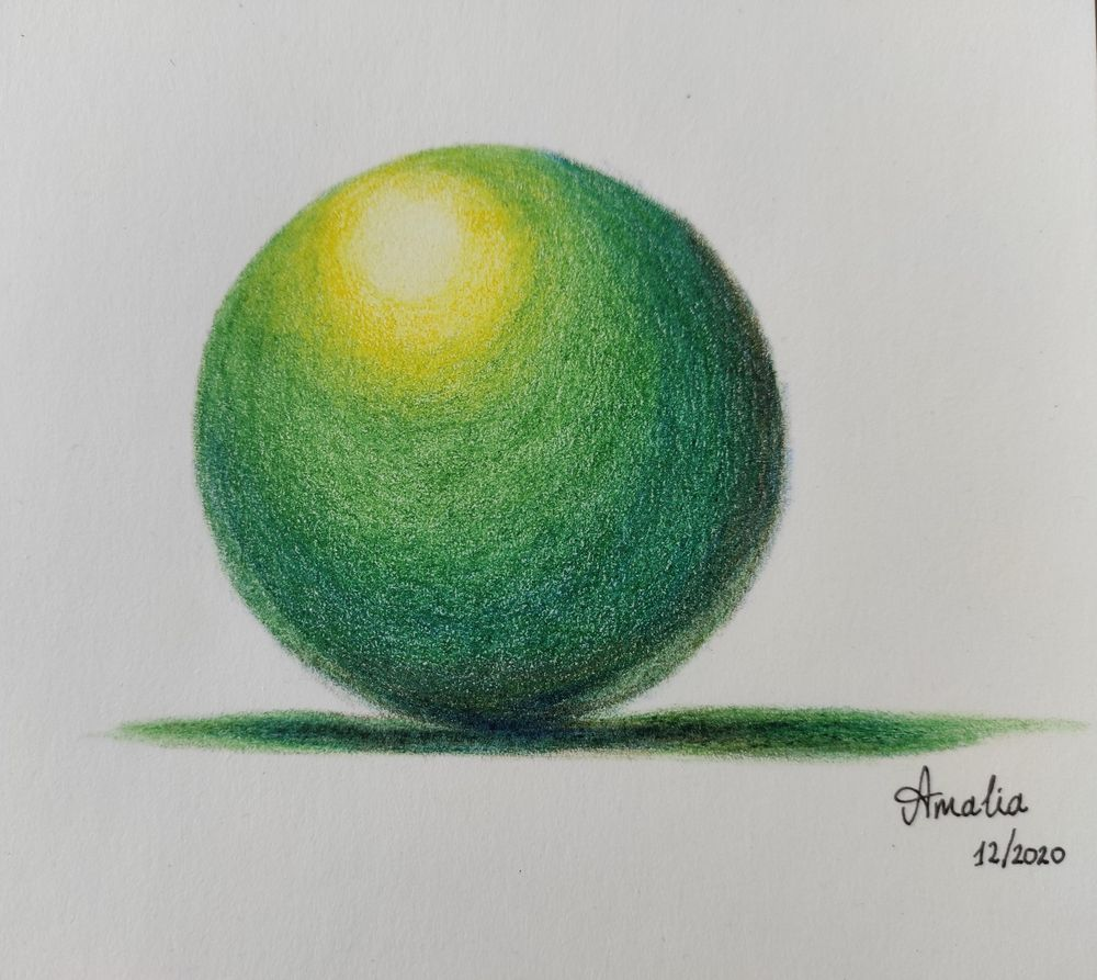 Green Sphere - image 1 - student project