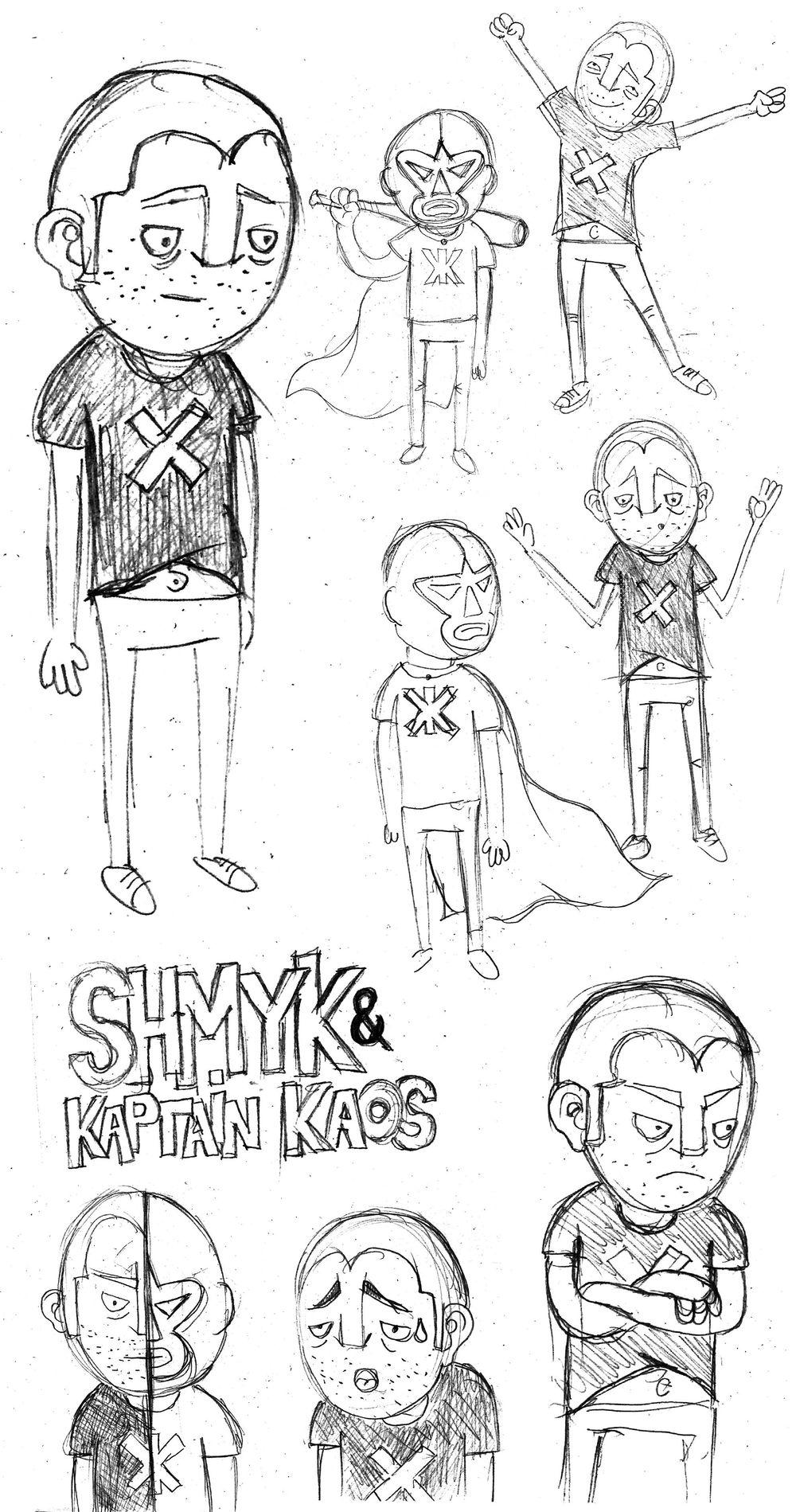 Shmykk & Kaptain Kaos - image 1 - student project