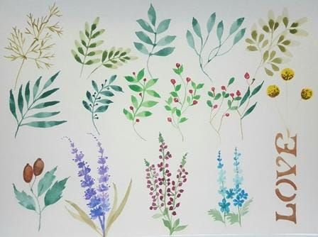 Filler leaves & Flowers - image 1 - student project